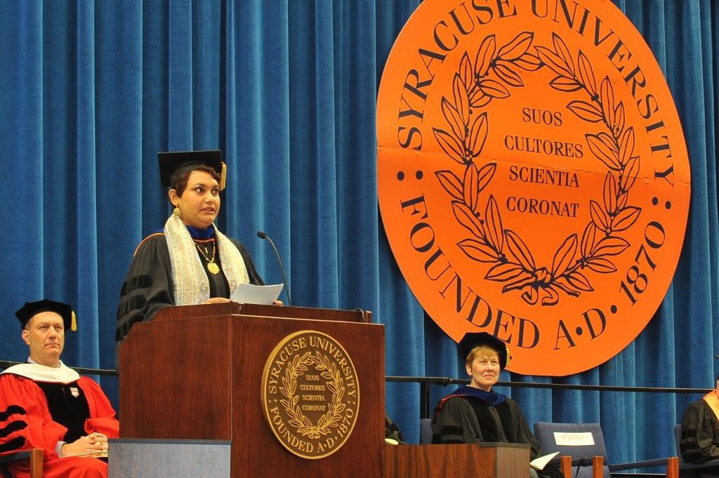 Faculty Convocation Speech, College of Arts & Sciences, Syracuse University, 2012
