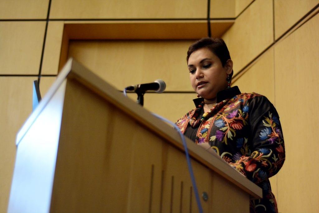 Dr. Farhana Sultana as Keynote Speaker at the University of Victoria, Canada, 2018